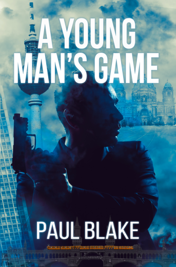 A Young Man's Game Front Cover Resized - Paul Blake